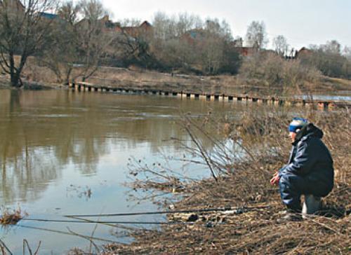 ловля язя весной по воде